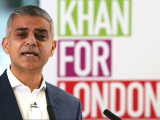 London Mayor Khan