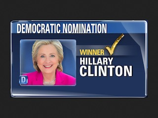Hillary Clinton Nomination