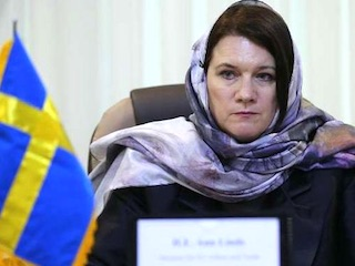 Swedish PM Hejab