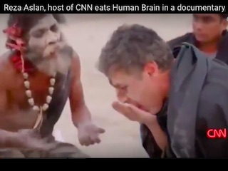 Eating Human Brain