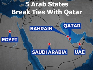 Qatar Ties Cut