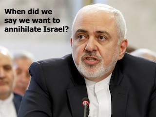 Zarif on Israel