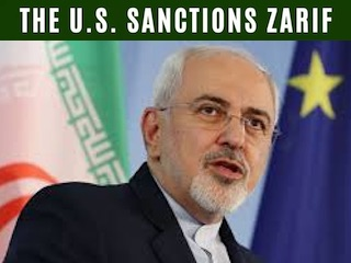 Zarif Sanctioned