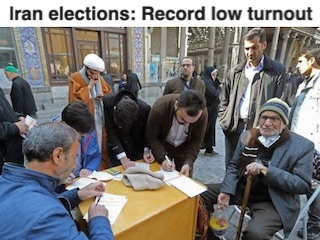 Iran Elections Low Turnout
