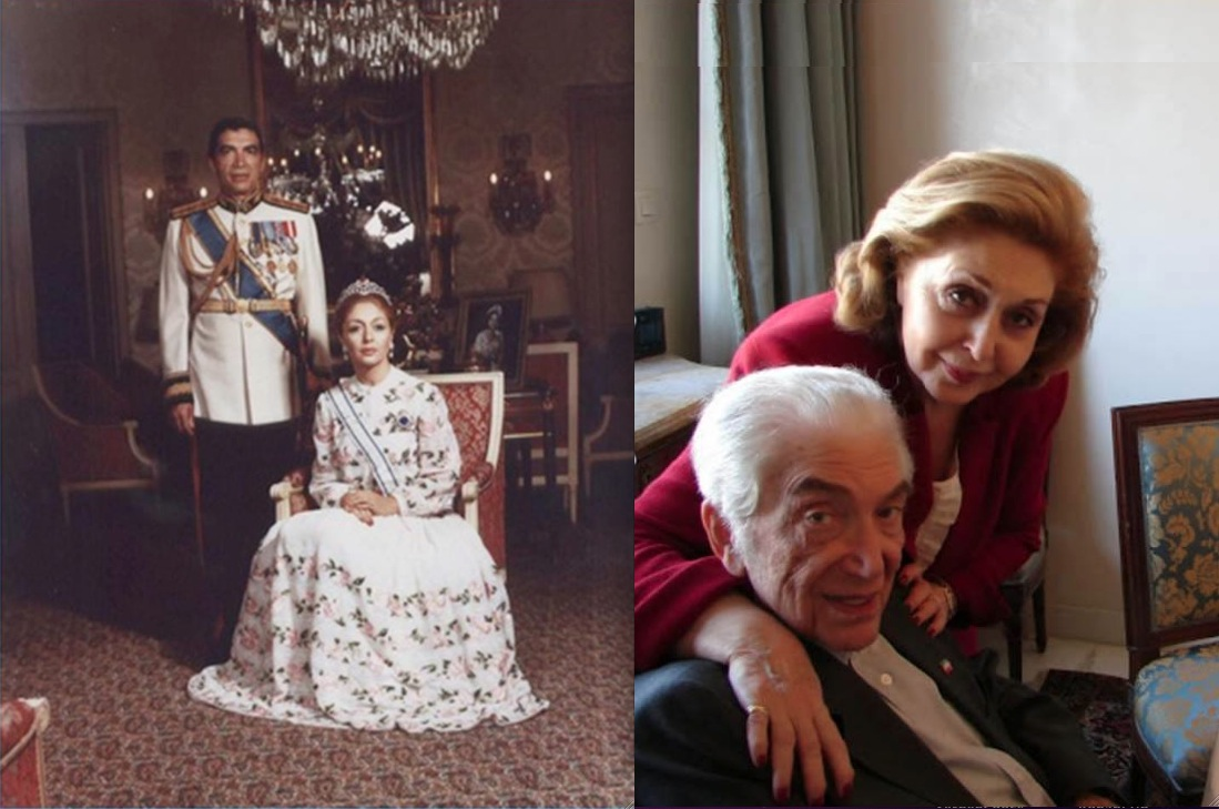 photos enduring love prince gholam reza pahlavi and