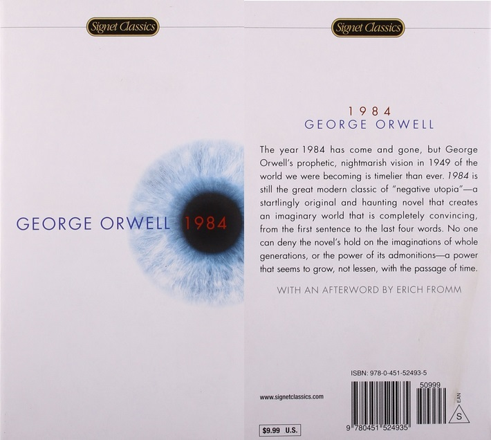 the lack of freedom in the novel 1984 by george orwell 1984 by george orwell this book, along with the rest of orwell's writings, have had a major influence on my life the deeper you go into orwell's writings.