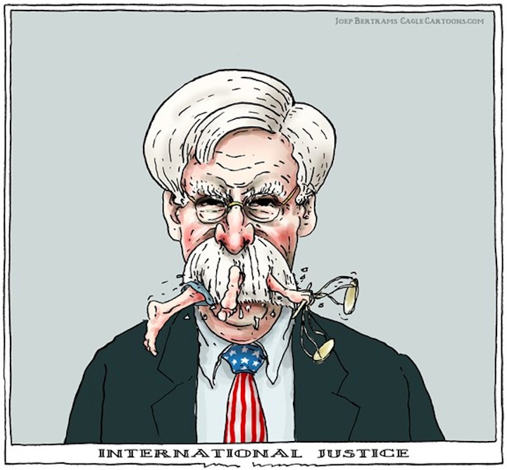 Image result for John Bolton CARTOON