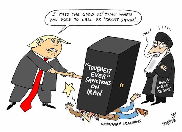 iroon.com: Cartoons: Iran Sanctions