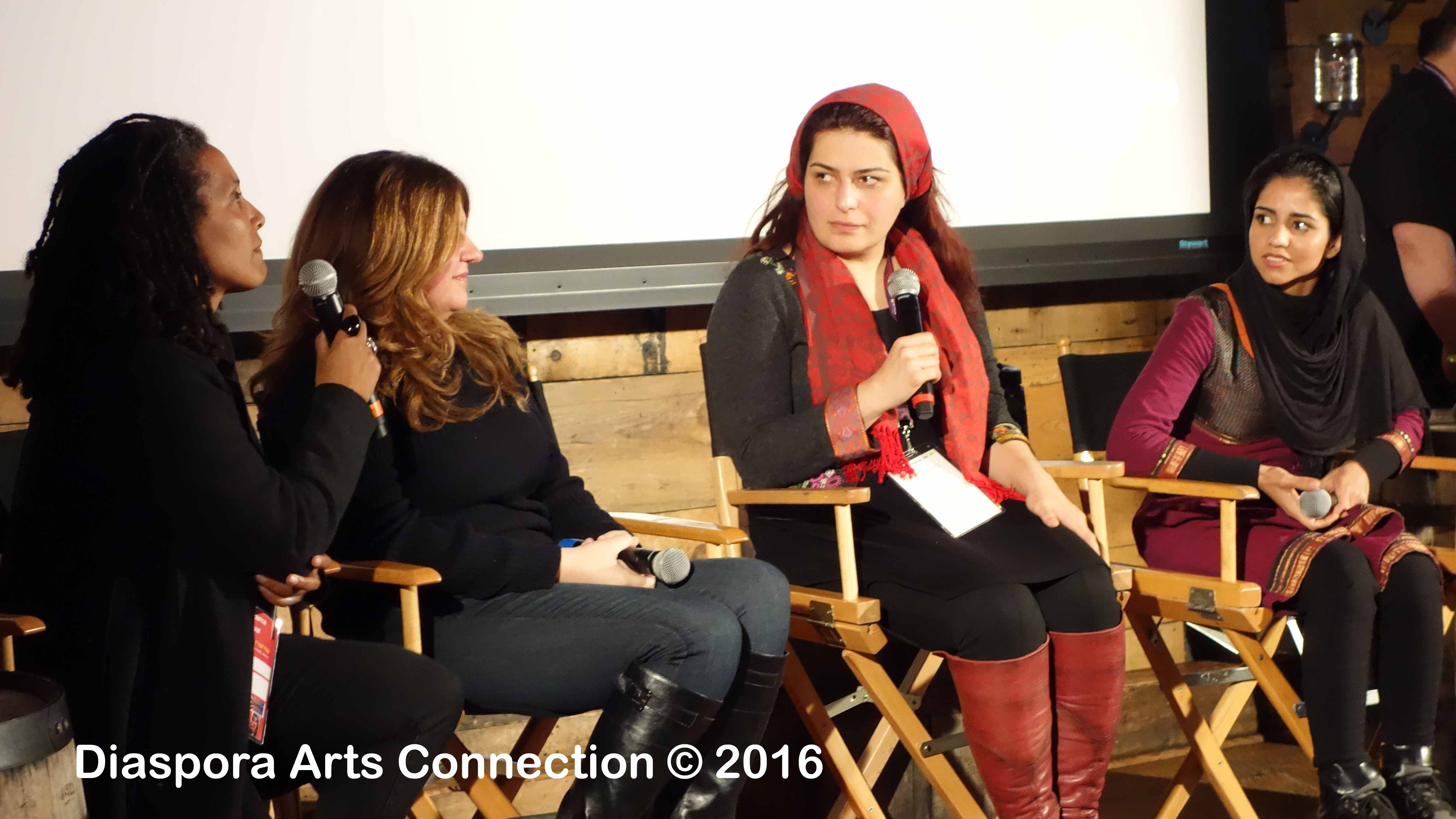 "Sundance Institute and Skoll Foundation's ""Stories Of Change"" panel exploring the moral imagination"