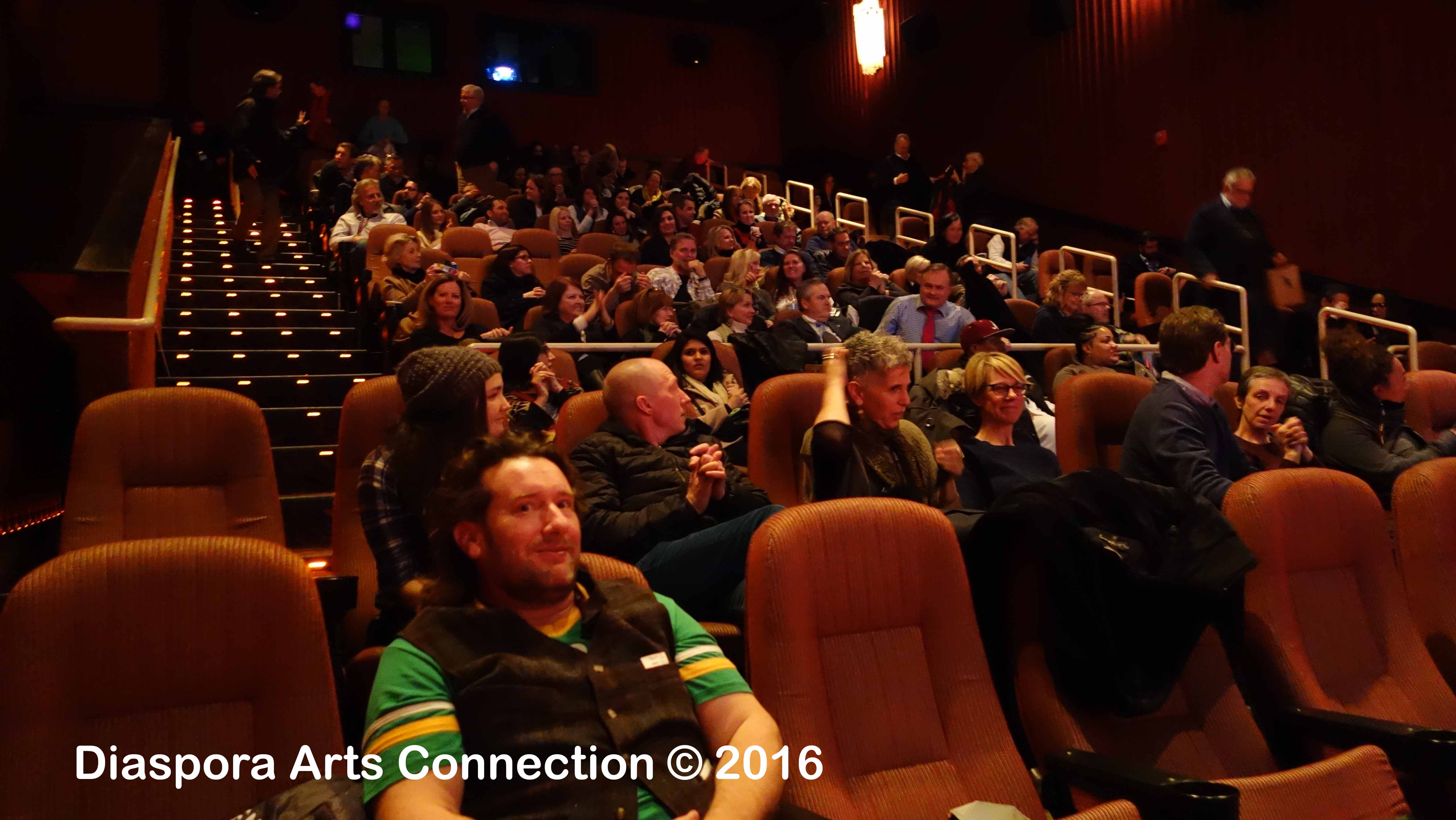 "A full house at an afternoon screening of ""Sonita"""
