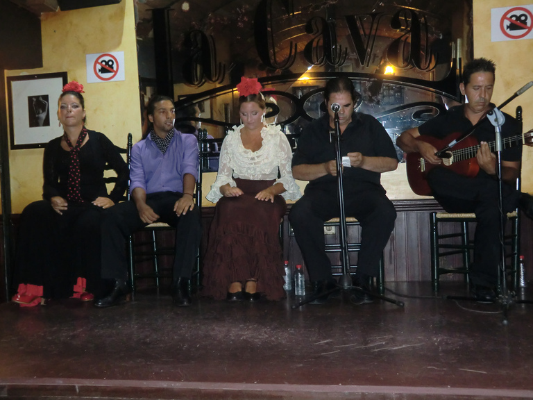 The flamenco band
