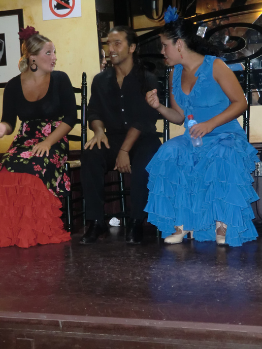 All Flamenco dancers