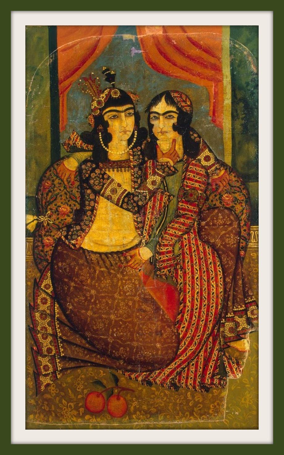 نقاشی قاجاری
